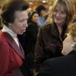 Princess Anne with Laurie