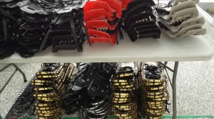 Snowshoes and skis available for rental.