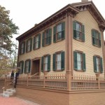 Abraham Lincoln's home in Springfield