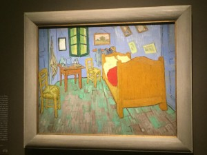 The second painting of The Bedroom by Vincent van Gogh
