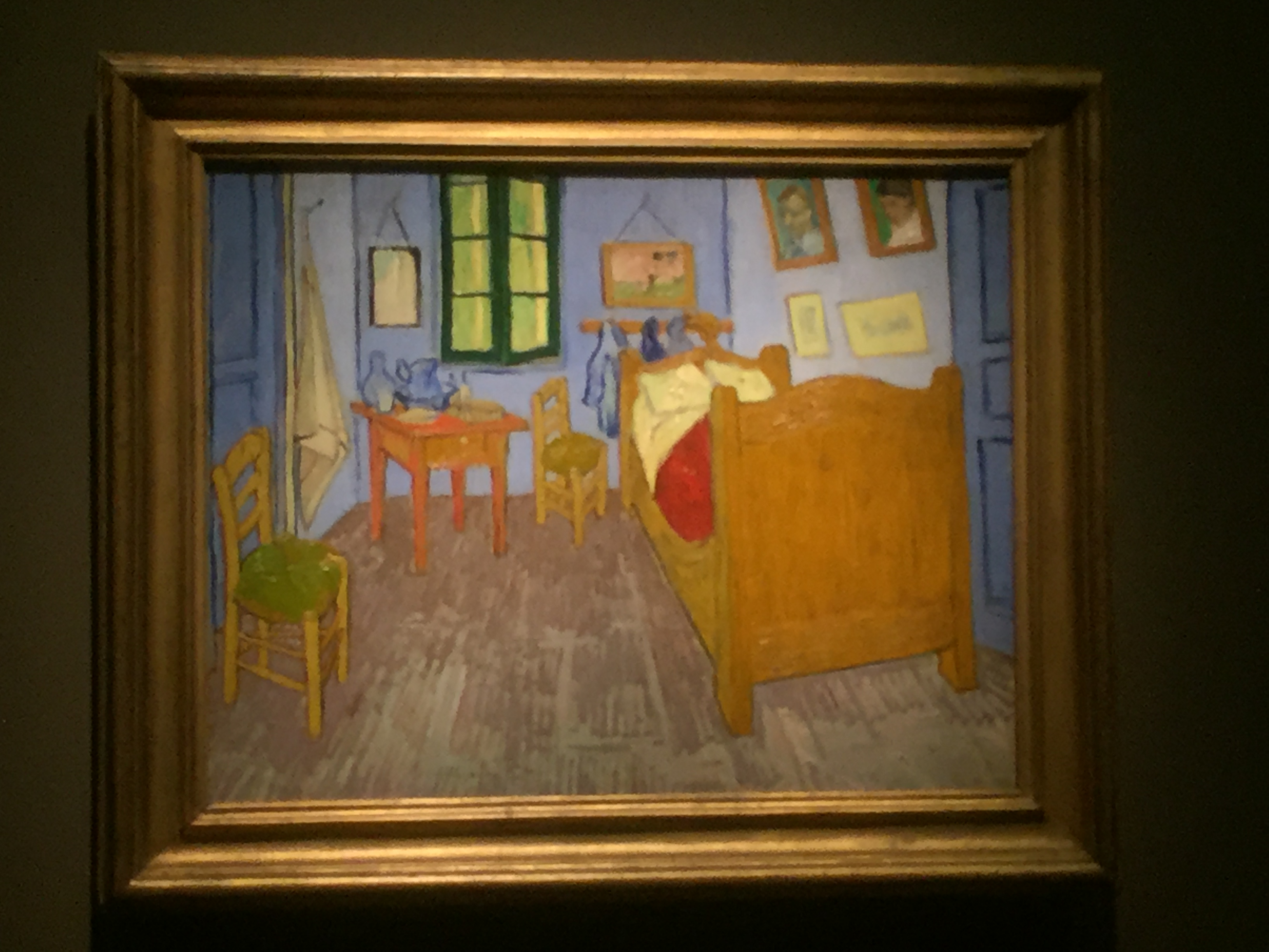 The final painting of The Bedroom by Vincent Van GoghVisiting van Gogh s Bedrooms   TheRoadScholar. The Bedroom Van Gogh Painting. Home Design Ideas